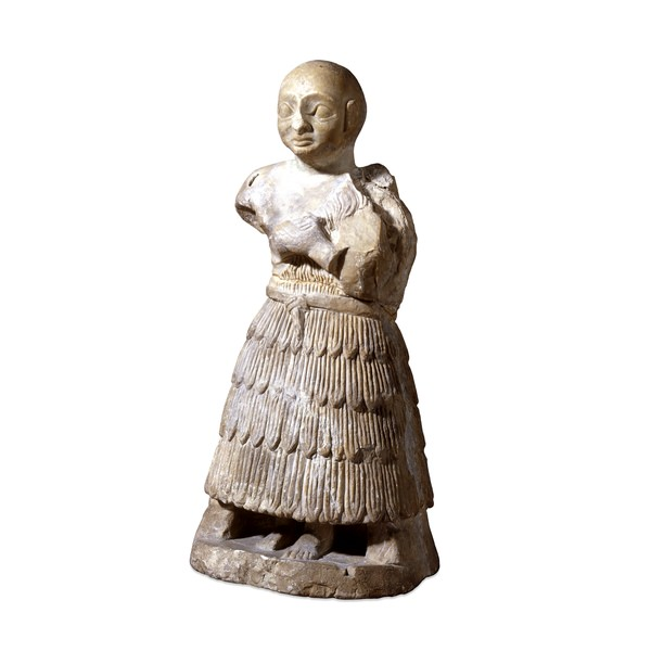 Gypsum statue of a man (Illustration) - Ancient History Encyclopedia