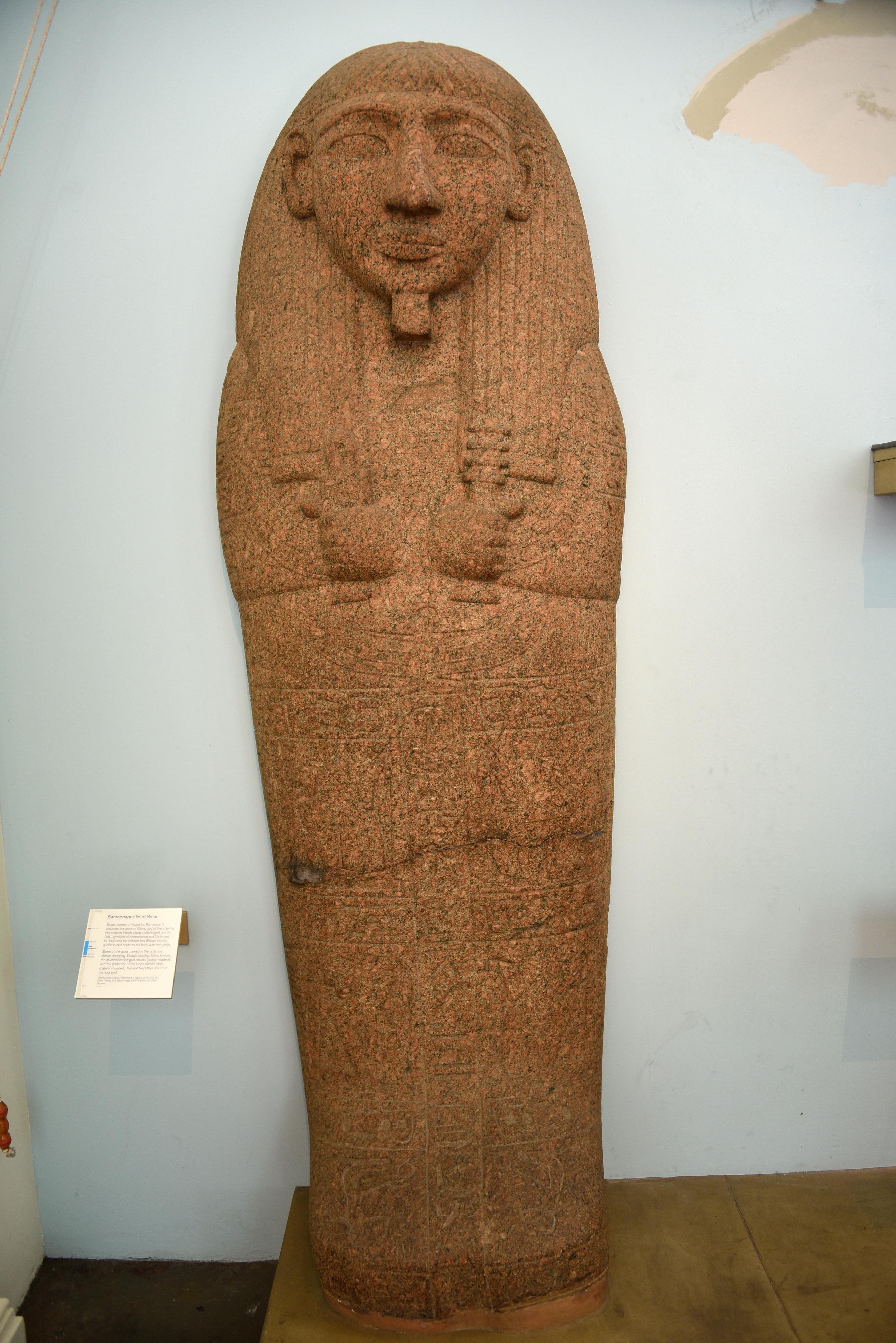 Uncategorized Pictures Of Sarcophagus sarcophagus lid of pahemnetjer illustration ancient history setau