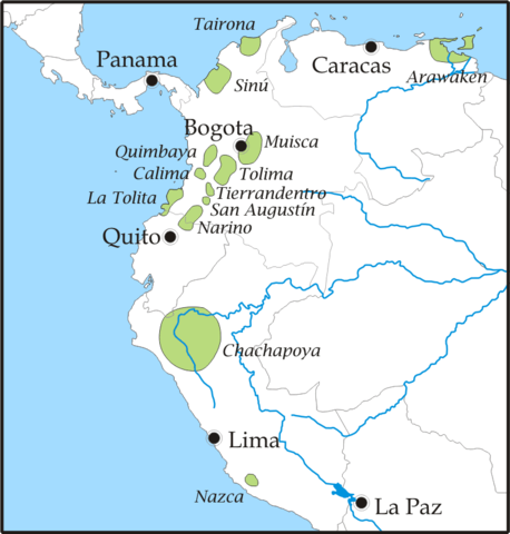 Pre-Columbian Tribes of Northern South America (Illustration ... on major rivers in south america, map of northern ca wine country, map of northern east coast usa, map of north america natural resources, topography of northern south america, northern part of south america, map of north america without labels, map of latin america, map of northern lebanon, map of the northern america, political map of america, map of northern fiji, map of northern adriatic, map of northern ukraine, map of eastern north america, map of northern jordan, map of central america, map of northern south carolina, map of northern european rivers, map of northern wisconsin,