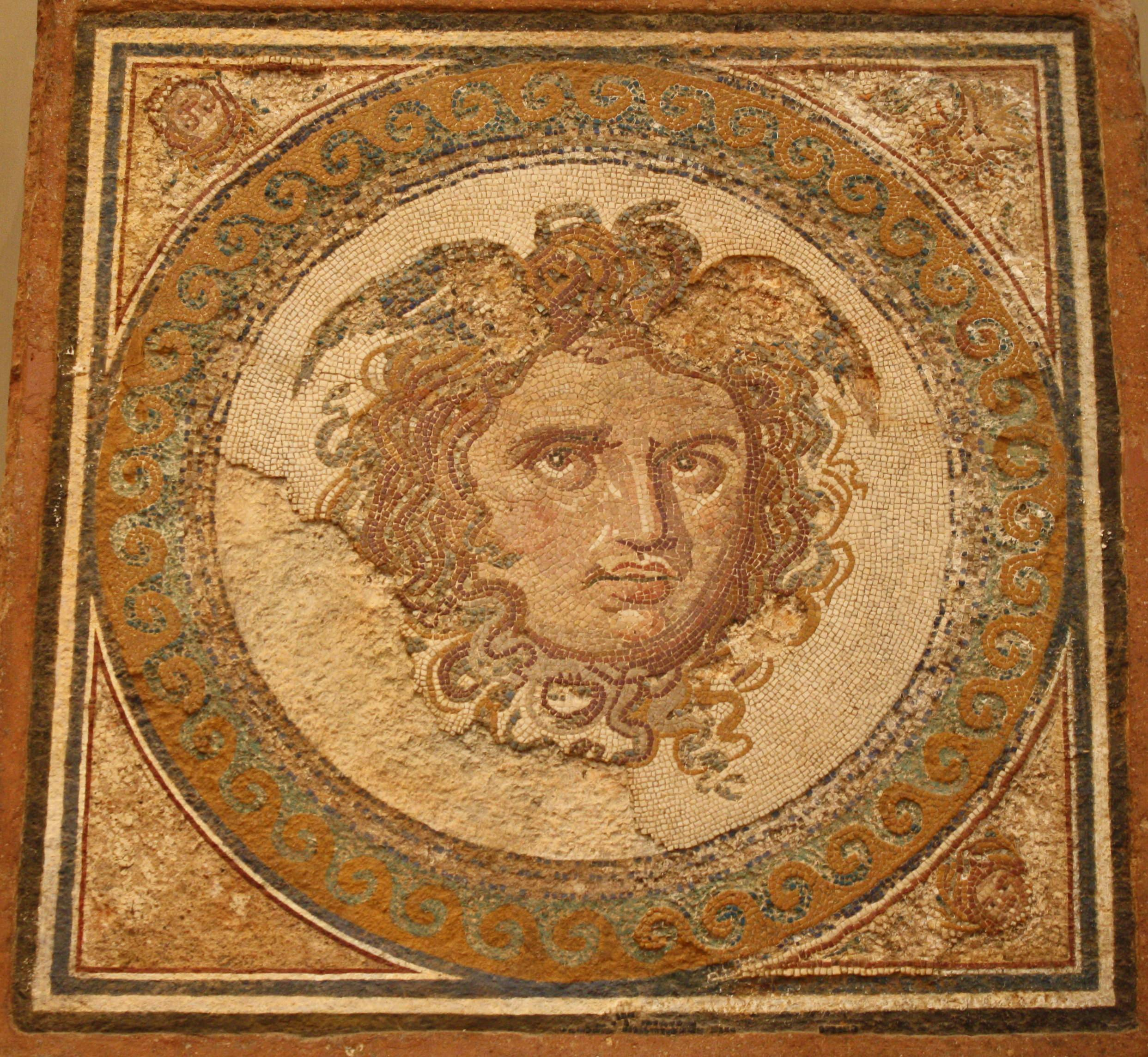 Medusa ancient history encyclopedia medusa mosaic buycottarizona