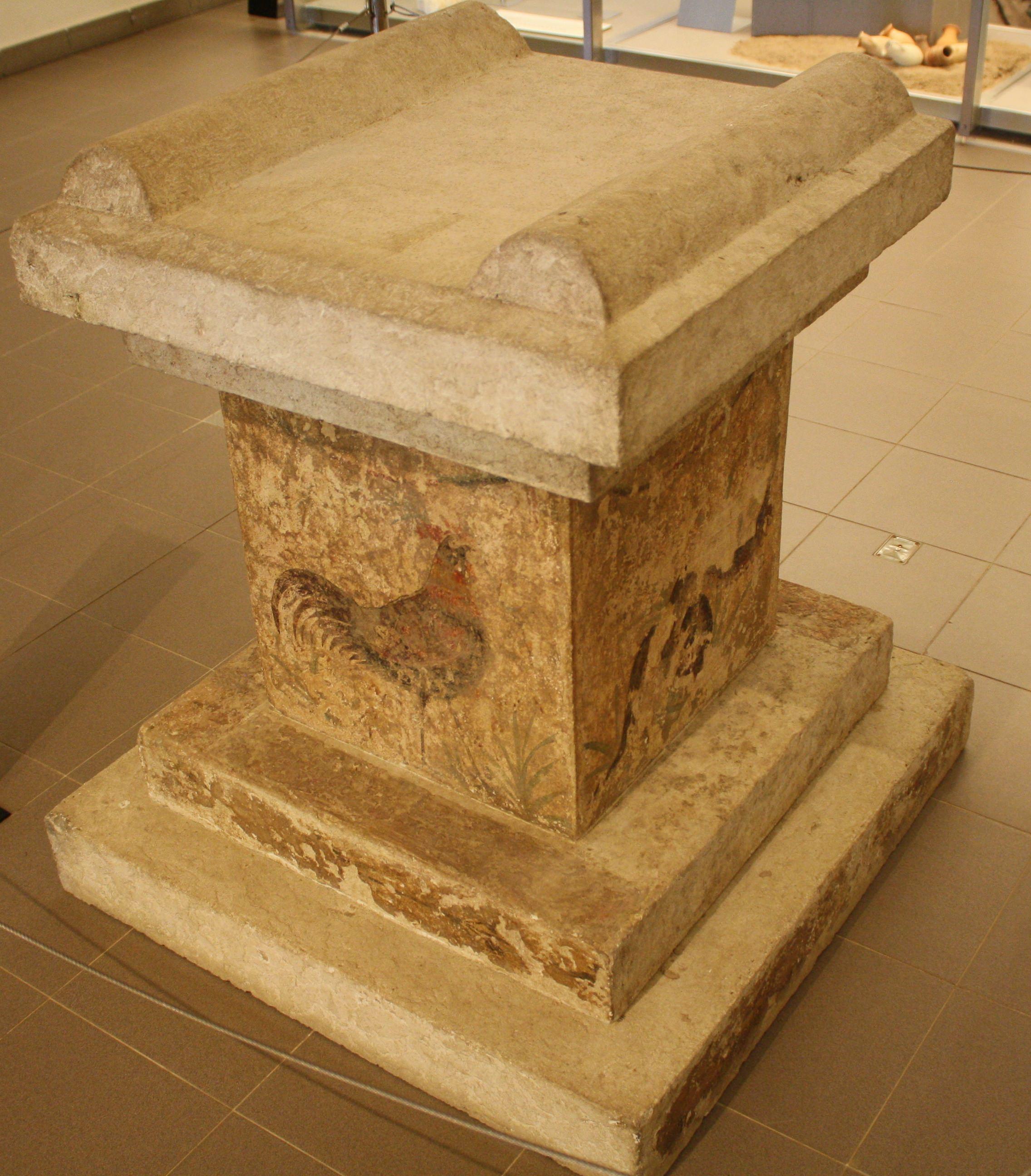 Roman Garden Altar, Empuries