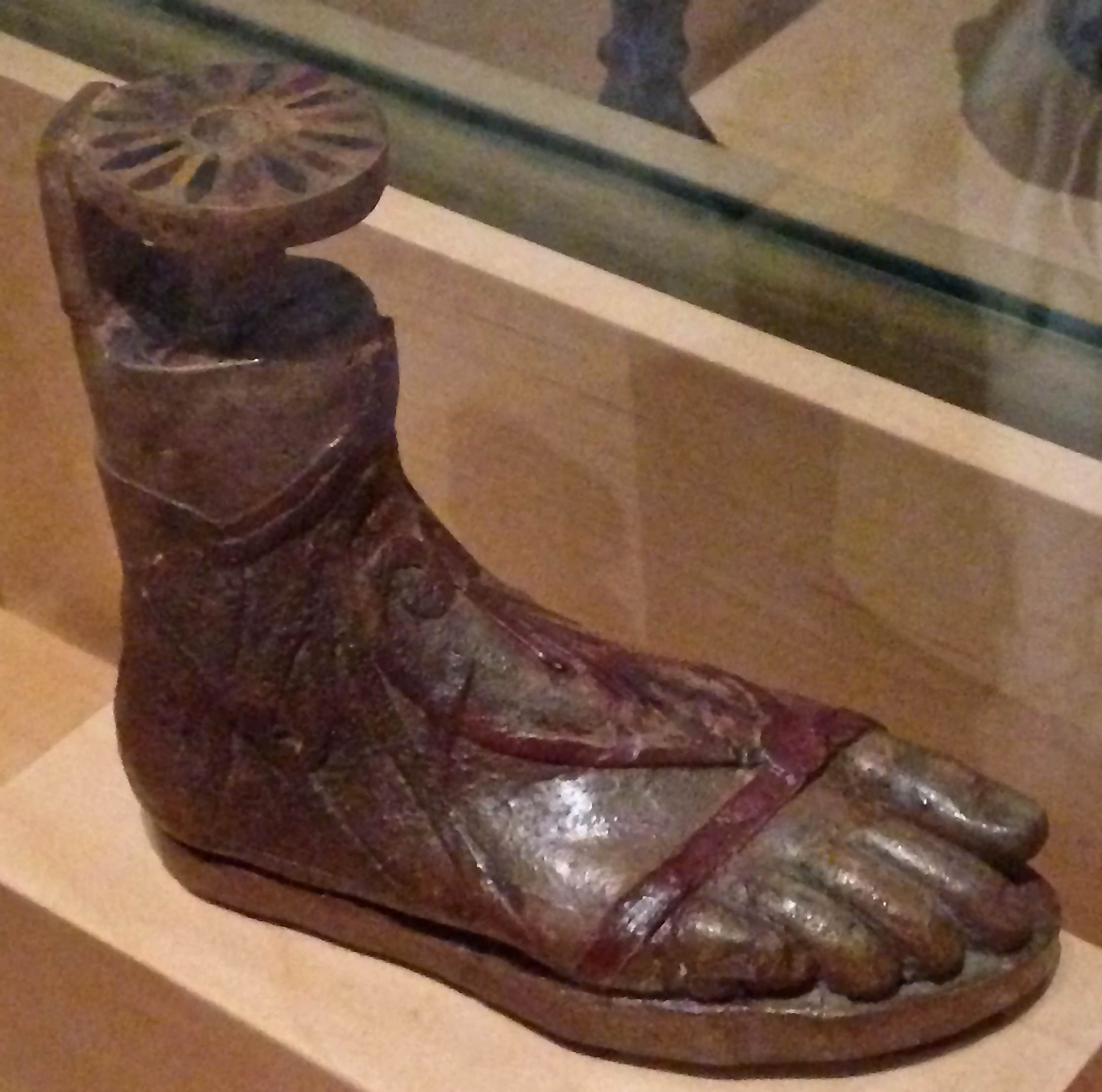 Ancient Greek Sandal (Illustration)
