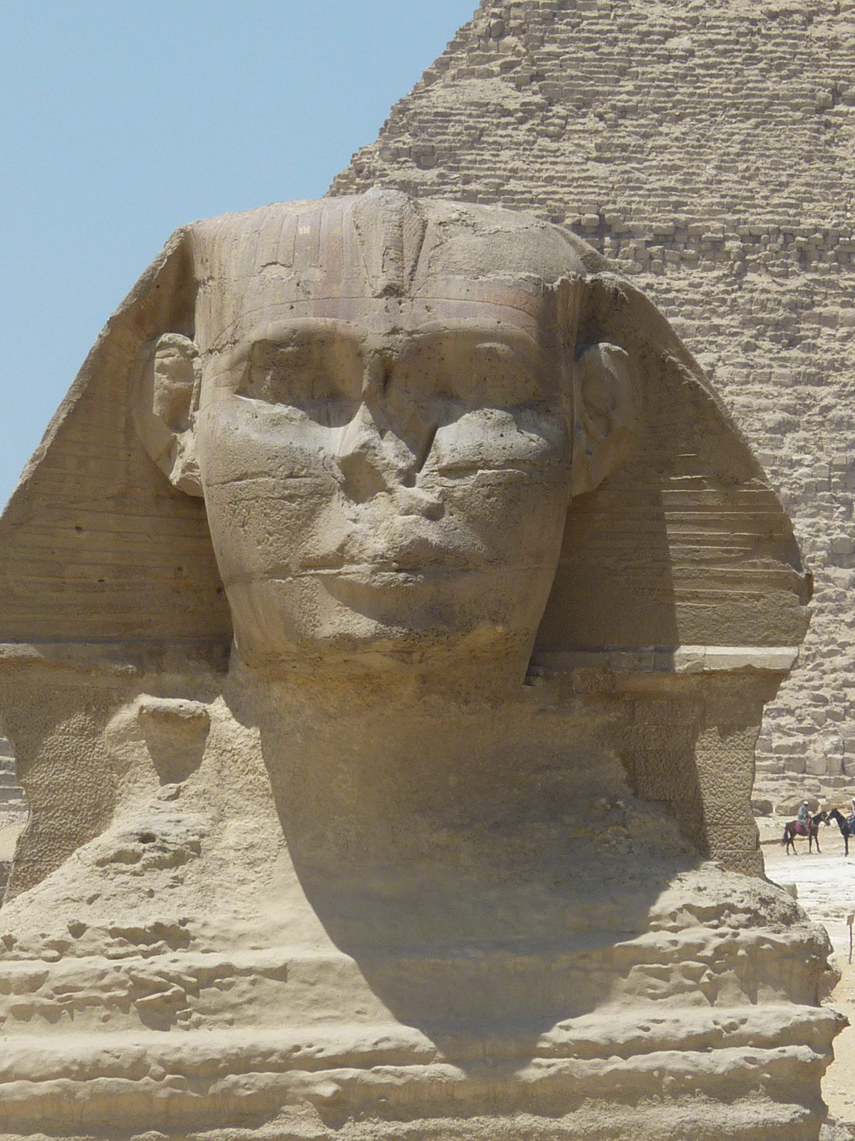 worksheet Sphinx Statue the great sphinx of giza ancient history encyclopedia face sphinx