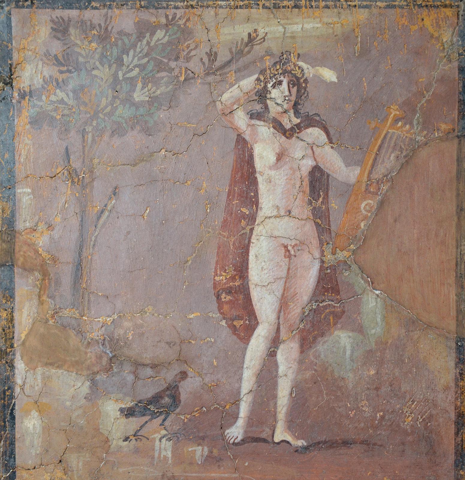 Roman Hermaphrodite Fresco (Illustration) - Ancient History Encyclopedia