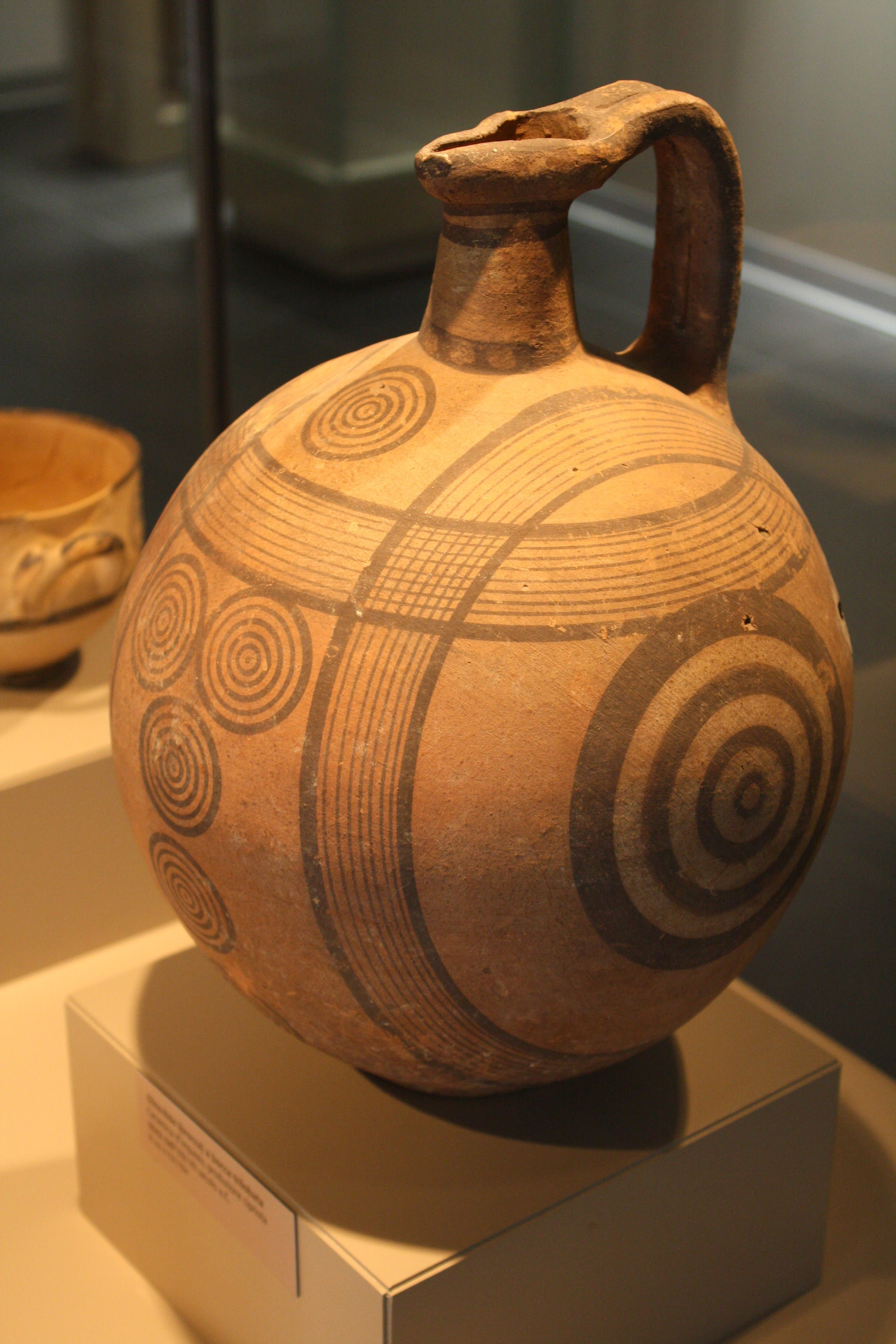 Cypriot pitcher illustration ancient history encyclopedia for Ancient greek pottery decoration