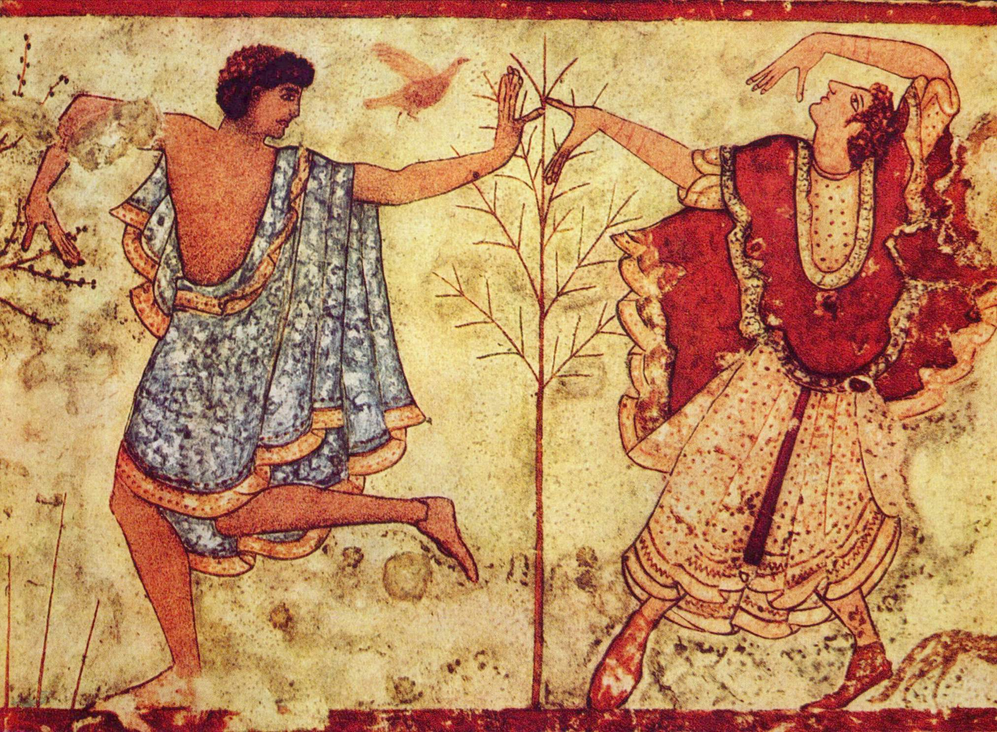 Etruscan Clothing (Article) - Ancient History Encyclopedia
