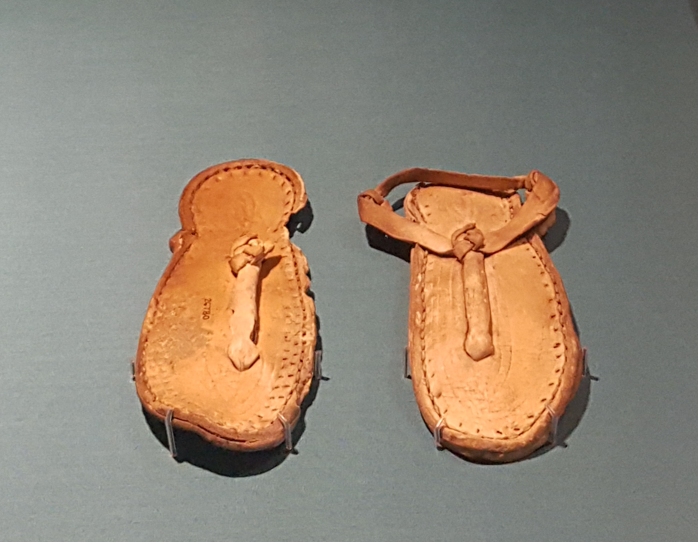 9cc48e655556 Egyptian Child s Leather Sandals (Illustration) - Ancient History ...