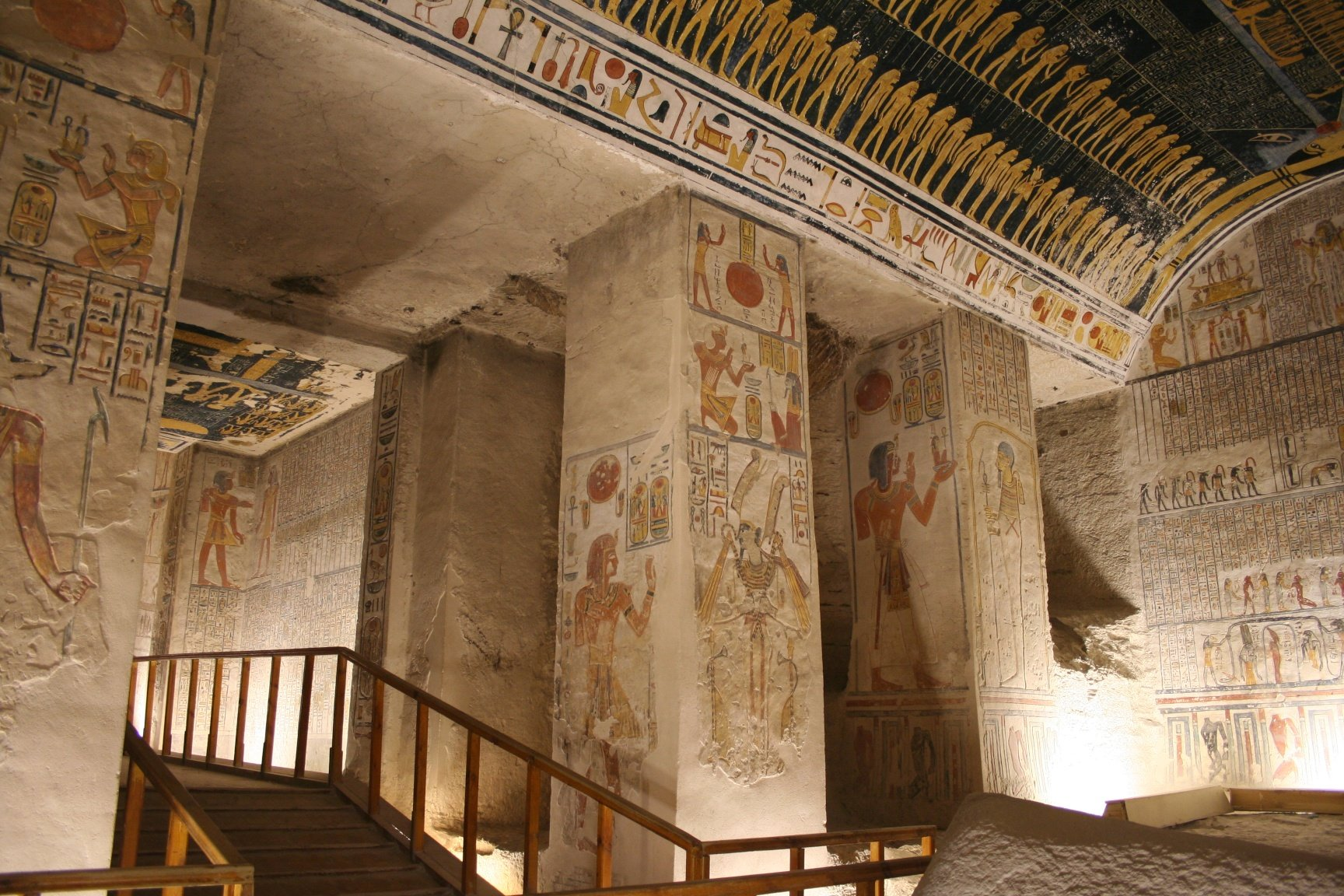 King Ramses Ii Tomb