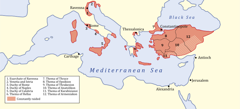 Image result for map of byzantine empire