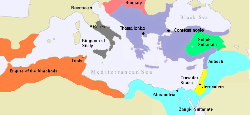 Image result for Byzantine Empire 12th century
