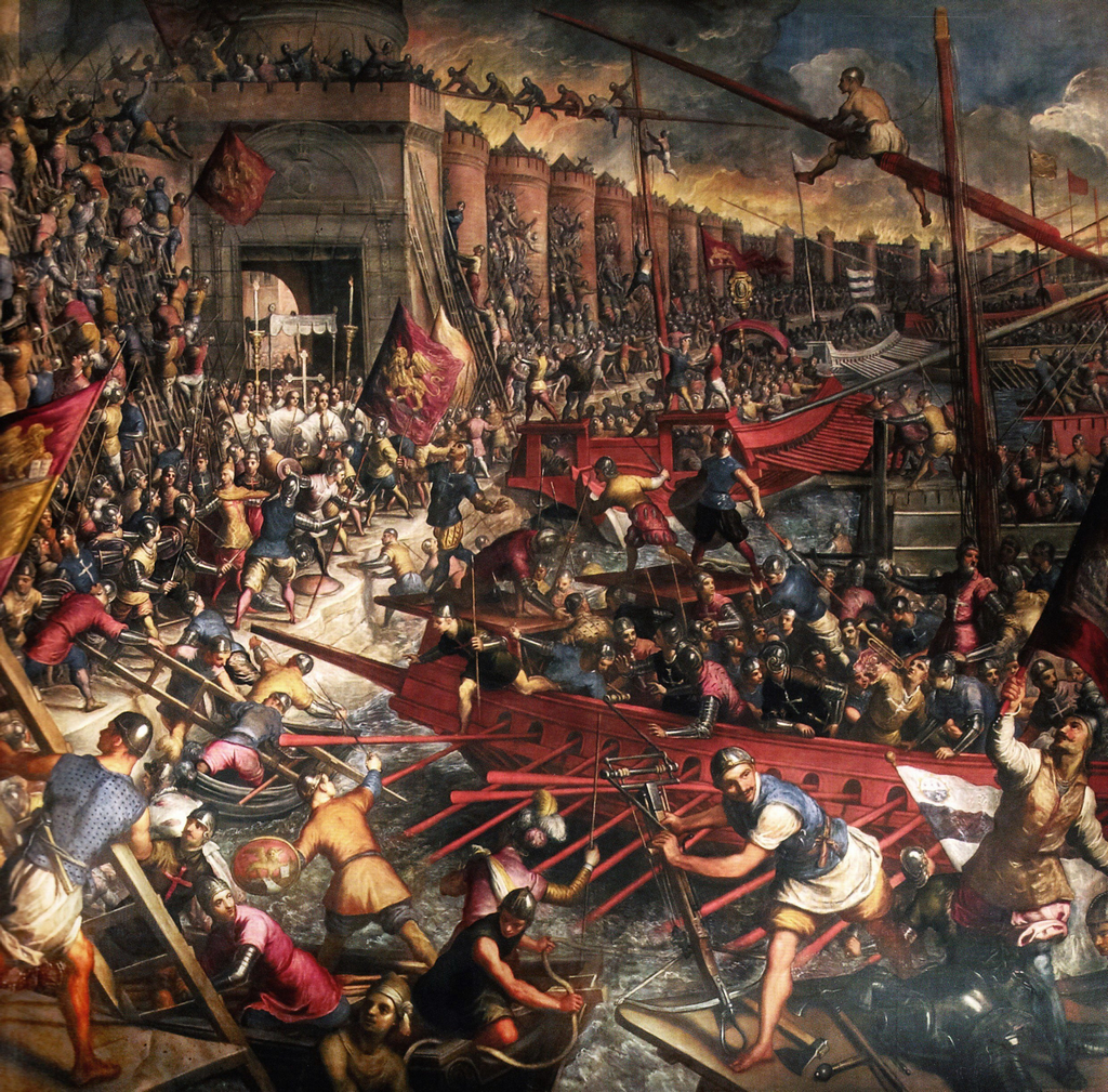 The Venetians Attack Constantinople, 1204 CE