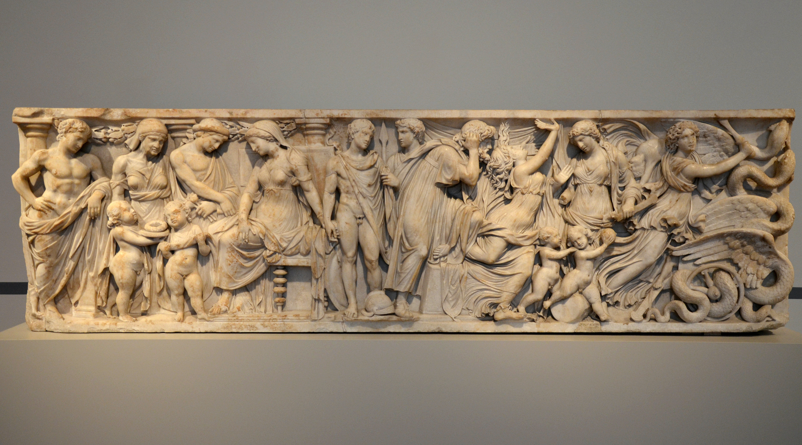 Image result for medea sarcophagus