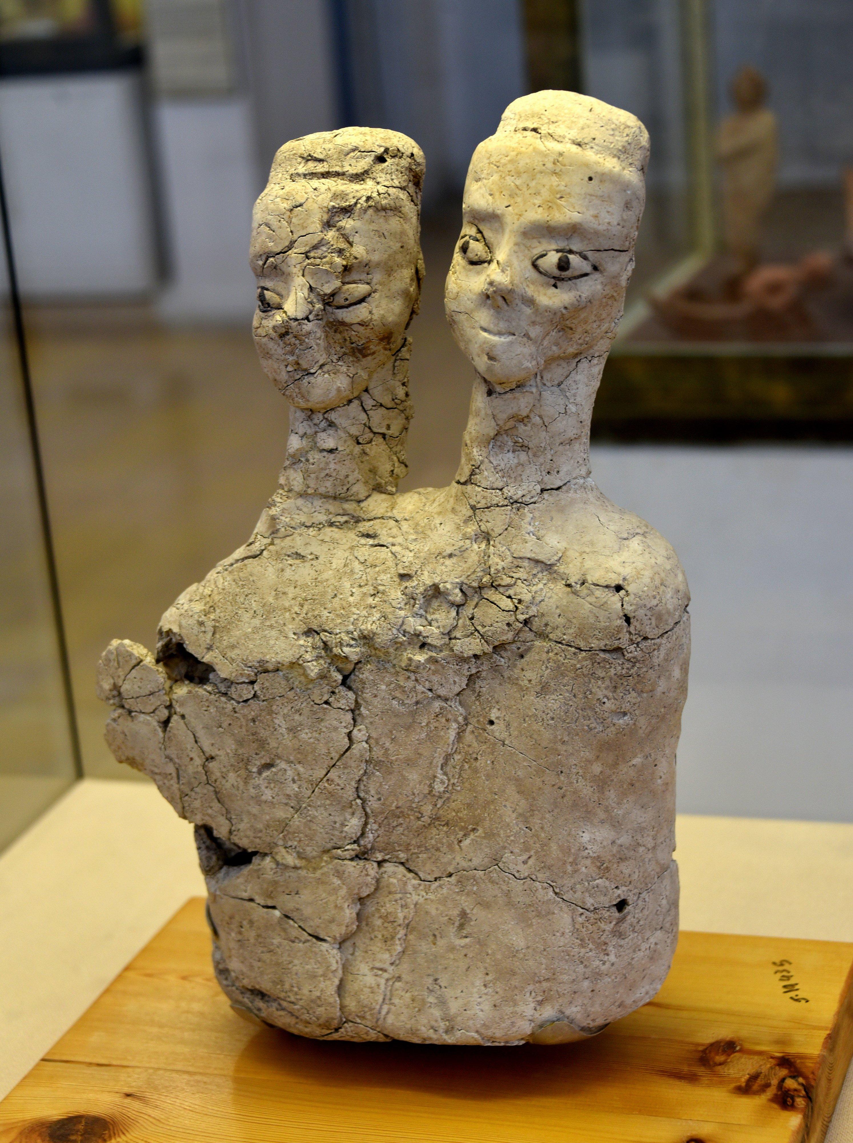'Ain Ghazal Statues