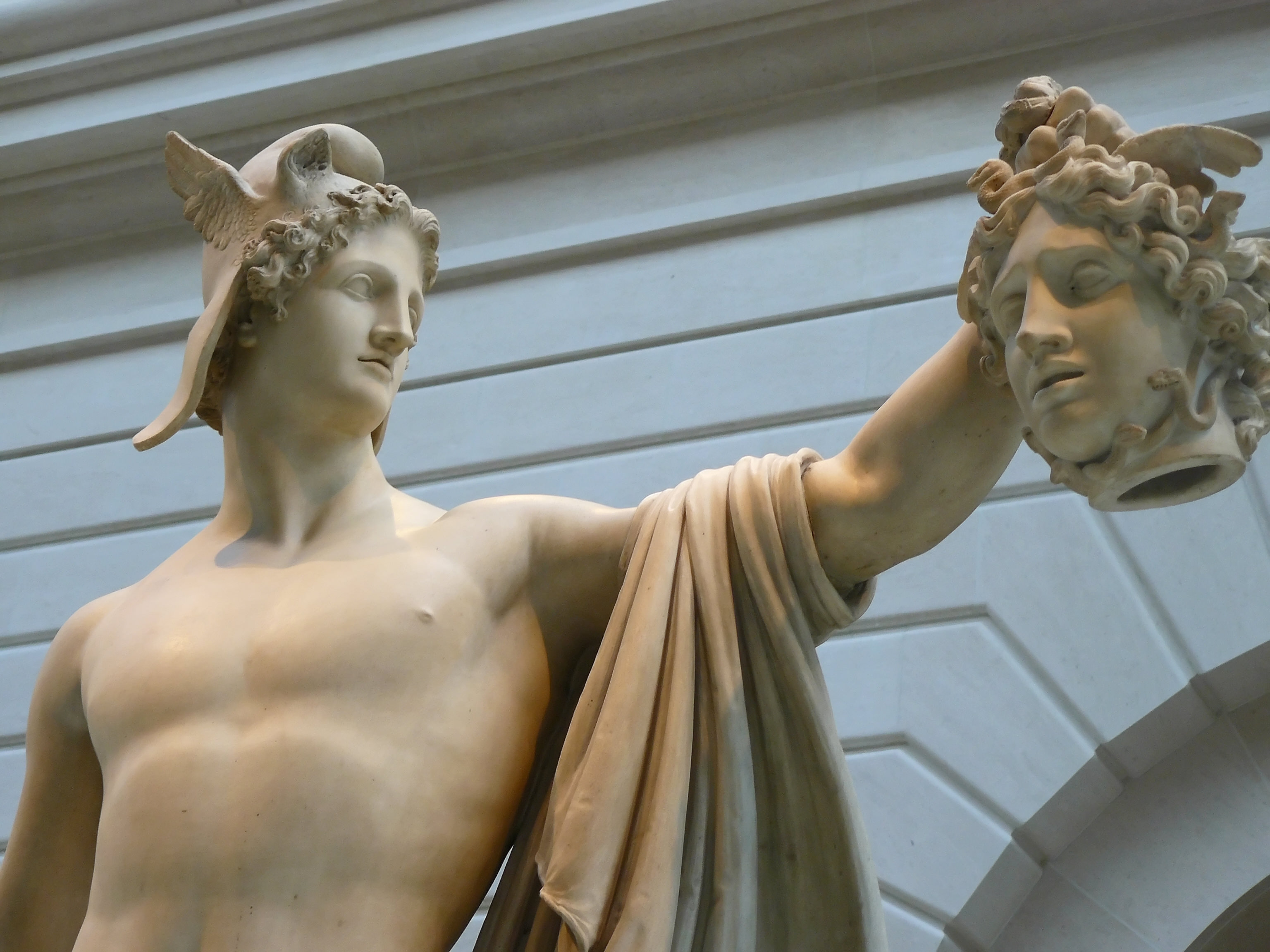 Perseus with the Head of Medusa Picture, Perseus with the ...  |Perseus With The Head Of Medusa Painting