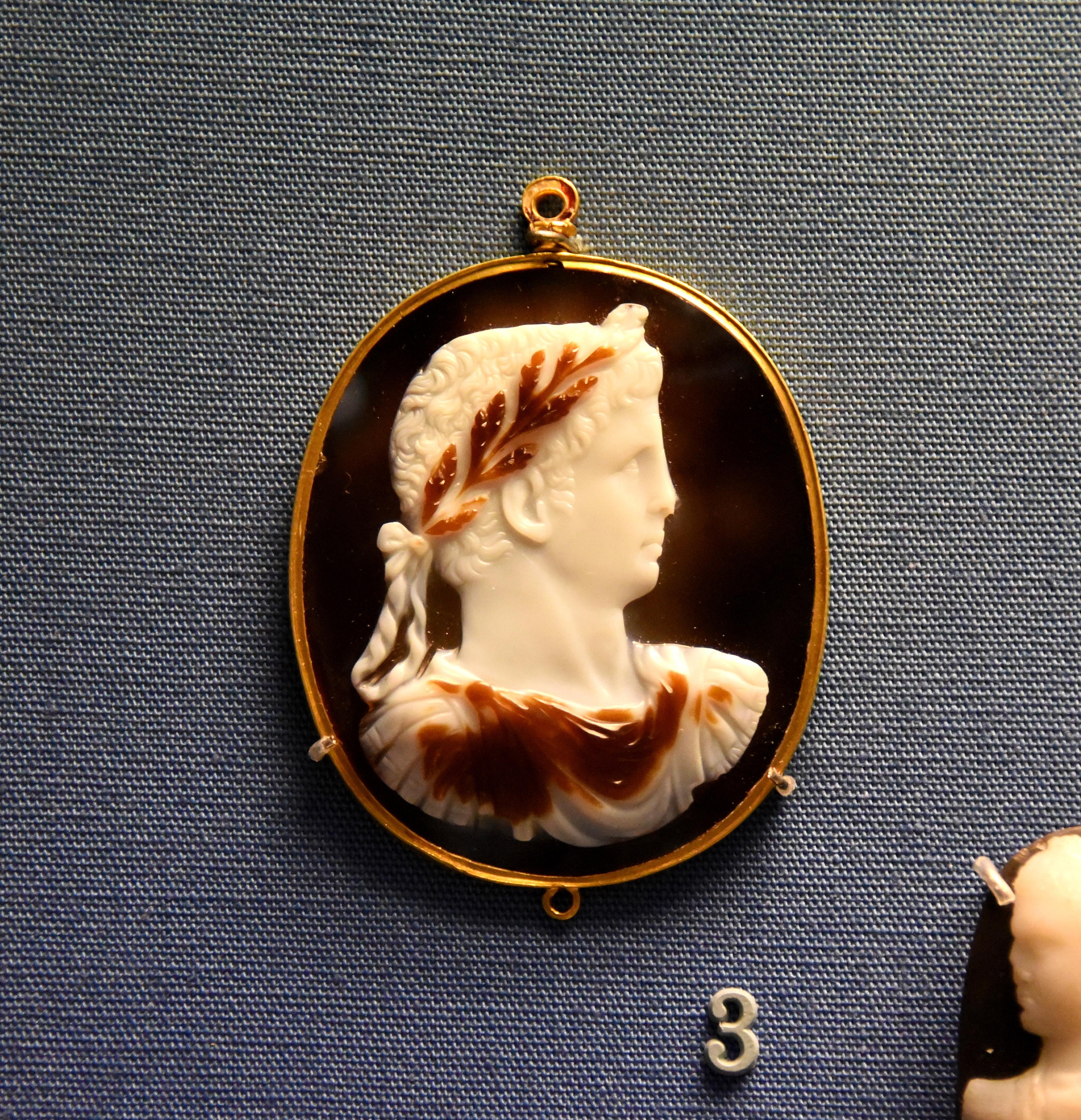 Cameo of Emperor Claudius