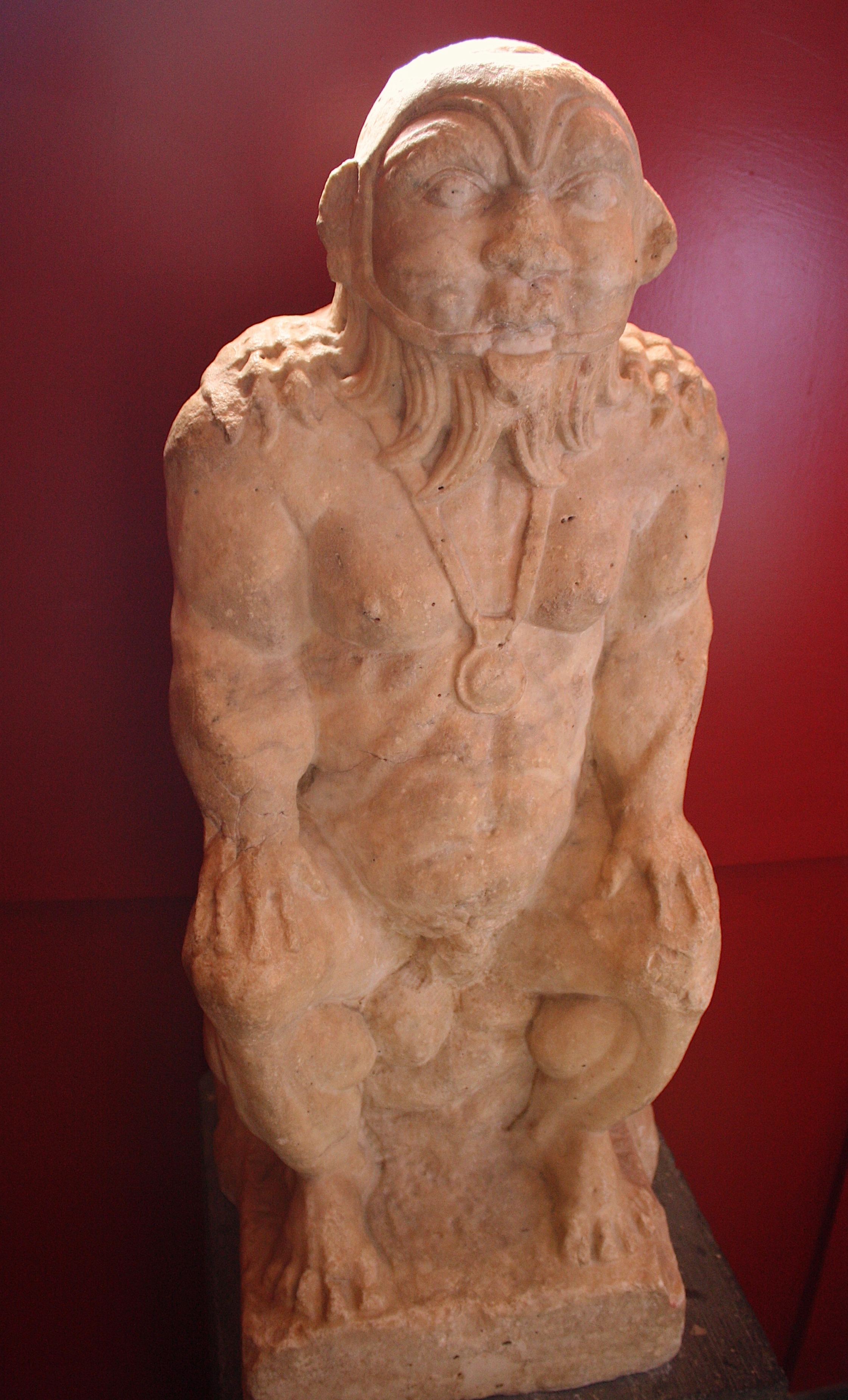 Marble Statue of Bes (Illustration) - Ancient History Encyclopedia