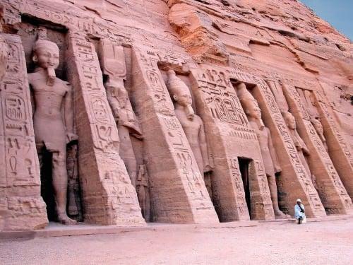 El pequeño templo, Abu Simbel