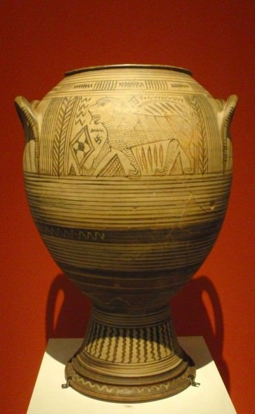 Boeotian Pithos from Thebes