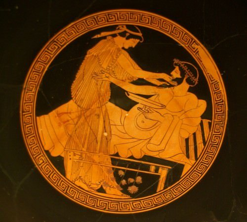 The Relationship Between the Greek Symposium Poetry