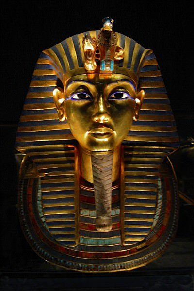 Máscara de muerte de Tutankhamun