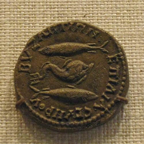 Bronze Coin of Byzantium