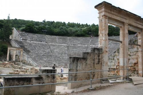 Theatre Parodoi, Epidaurus
