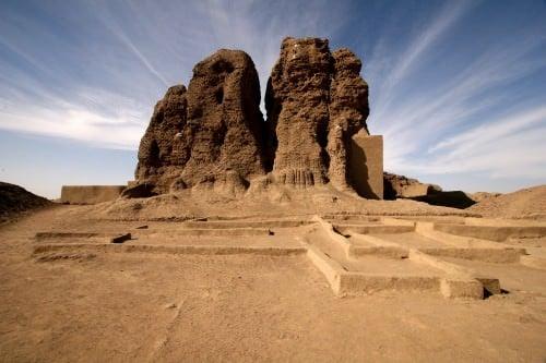 Templo occidental de Deffufa, Kerma