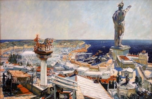 Ancient Rhodes por Frantisek Kupka