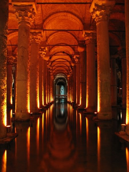 Binbirderek Cistern, Constantinople