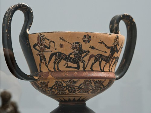 Black-figure Kantharos