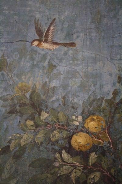 Fresco, la Villa de Livia, Roma