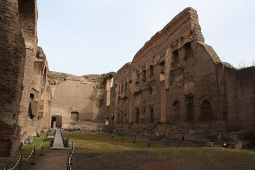 Natatio, Baths of Caracalla