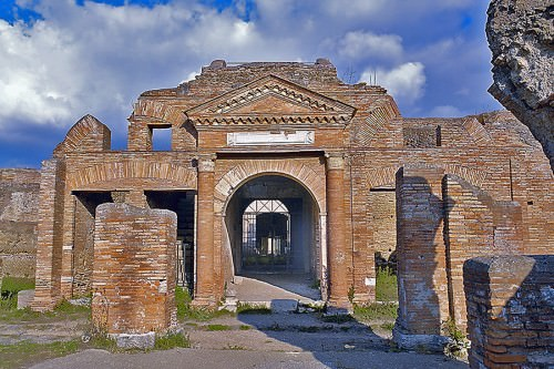 Horrea Epagathiana, Ostia