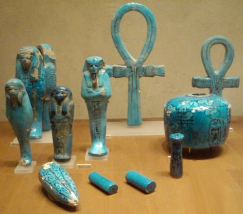 Objects from Tomb of Thutmose IV