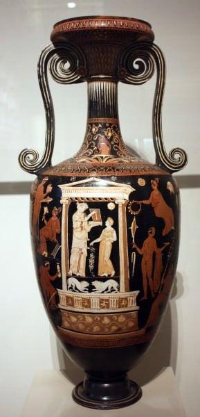 Loutrophoros de Apulia
