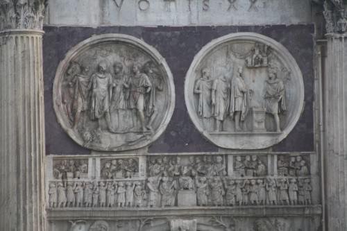 Detalle, Arco de Constantino I