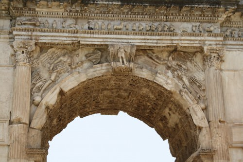 Roman Architecture Vault the arch of titus, rome (article) - ancient history encyclopedia