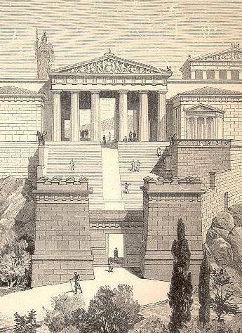 Propileos, Atenas