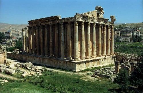 Templo de Baachus, Baalbek