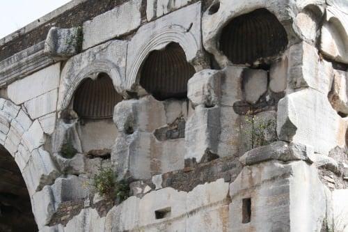 Detalle, Arco de Janus, Roma