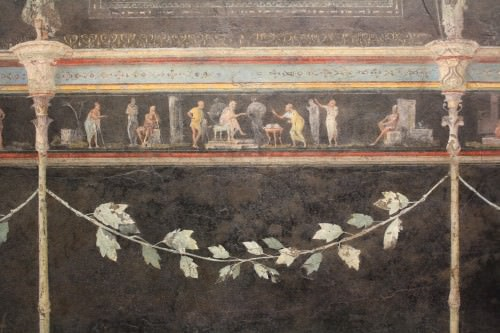 Roman wall painting article ancient history encyclopedia for Ancient roman mural