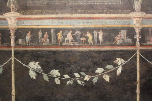 Roman Fresco, Villa of the Farnesina, Rome