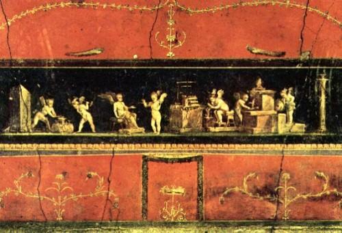 Friso de Cupido, Casa de los Vettii, Pompeya