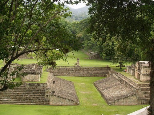 Ball Court, Copán