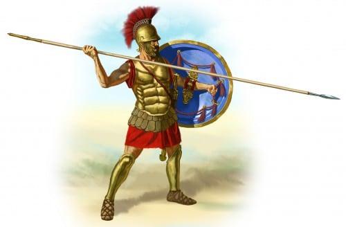Hoplita griego