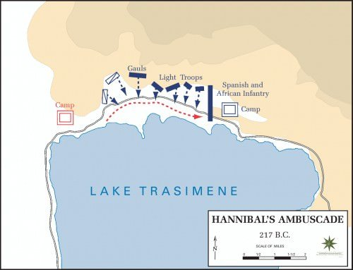 The Battle of Lake Trasimene