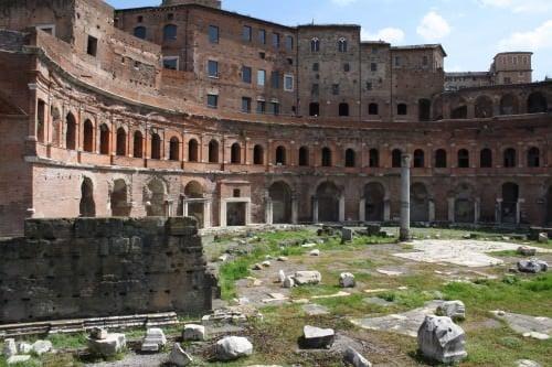 Trajans Market Article Ancient History Encyclopedia - Map of rome under trajan