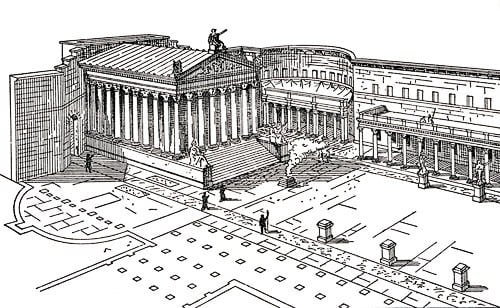 Foro de Augusto, Roma