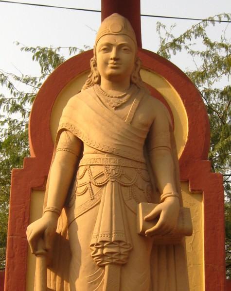 Statue of Mauryan Emperor Chandragupta