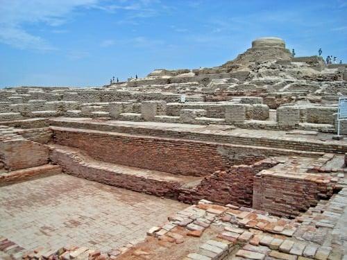 Excavation site at Mohenjo-daro